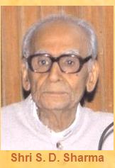 Shri S.D. Sharma